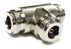 Picture of N-Jack to 2x N-Jack T-Piece Adapter