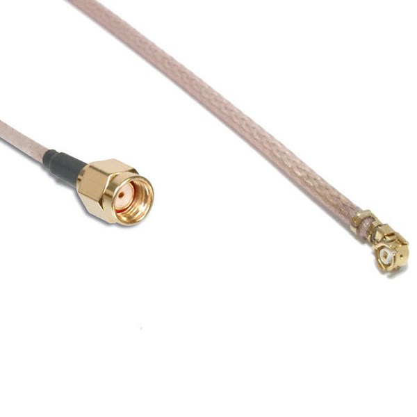 Picture of SMA Plug RP to IPEX Pigtail RG178