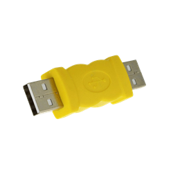 Picture of USB-A Plug to USB-A Plug Adapter